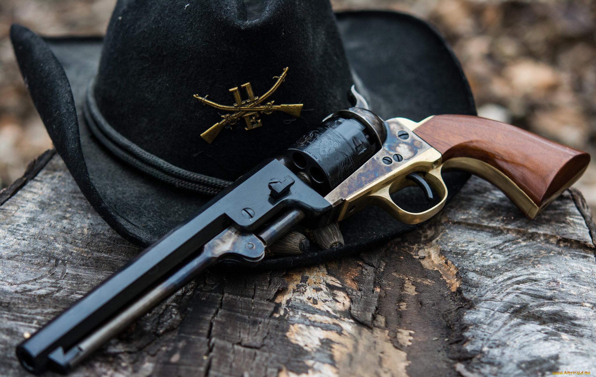 красивые картинки с револьверами